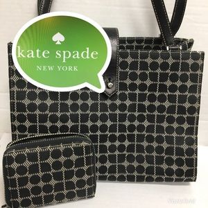 ♠️KATE SPADE DOT LOGO PURSE/WALLET ♠️